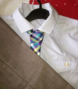 Next trousers, shirt and tie for £3.99