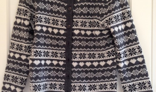 Grey patterned jumper Primark bargain