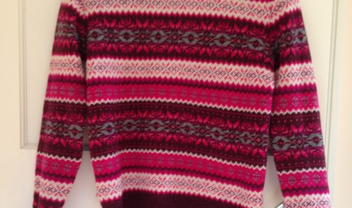 Winter jumper from Primark £14