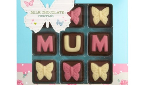 Tesco Mum Decorated Chocolate Truffles 90g, £2.00