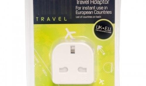 Travel adapter uk to euro