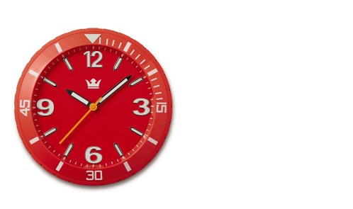 COLOUR WATCH WALLCLOCK 3
