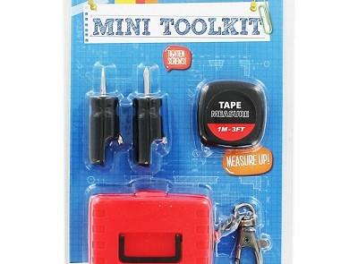 The Works Mini Tool Kit, £5 www.theworks.co.uk