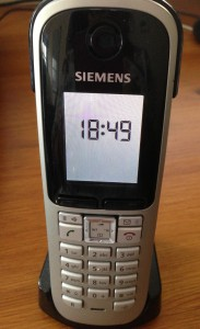 My Siemens VoIP phone