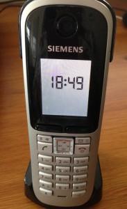 My Siemens VoIP phone
