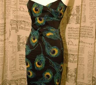 Karen Millen dress from charity shop for £12