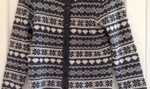 Grey patterned jumper Primark bargain