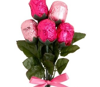 Tesco Mother's Day Chocolate Bunch of Roses 50g, £3.00