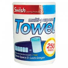 Swish - 250 Multi Purpose Kitchen Towels