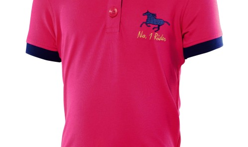 CHILDRENS RIDING POLO SHIRT