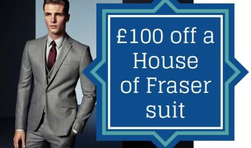 100 Off Mens Suit At House Of Fraser Money Saving Blog Mrs
