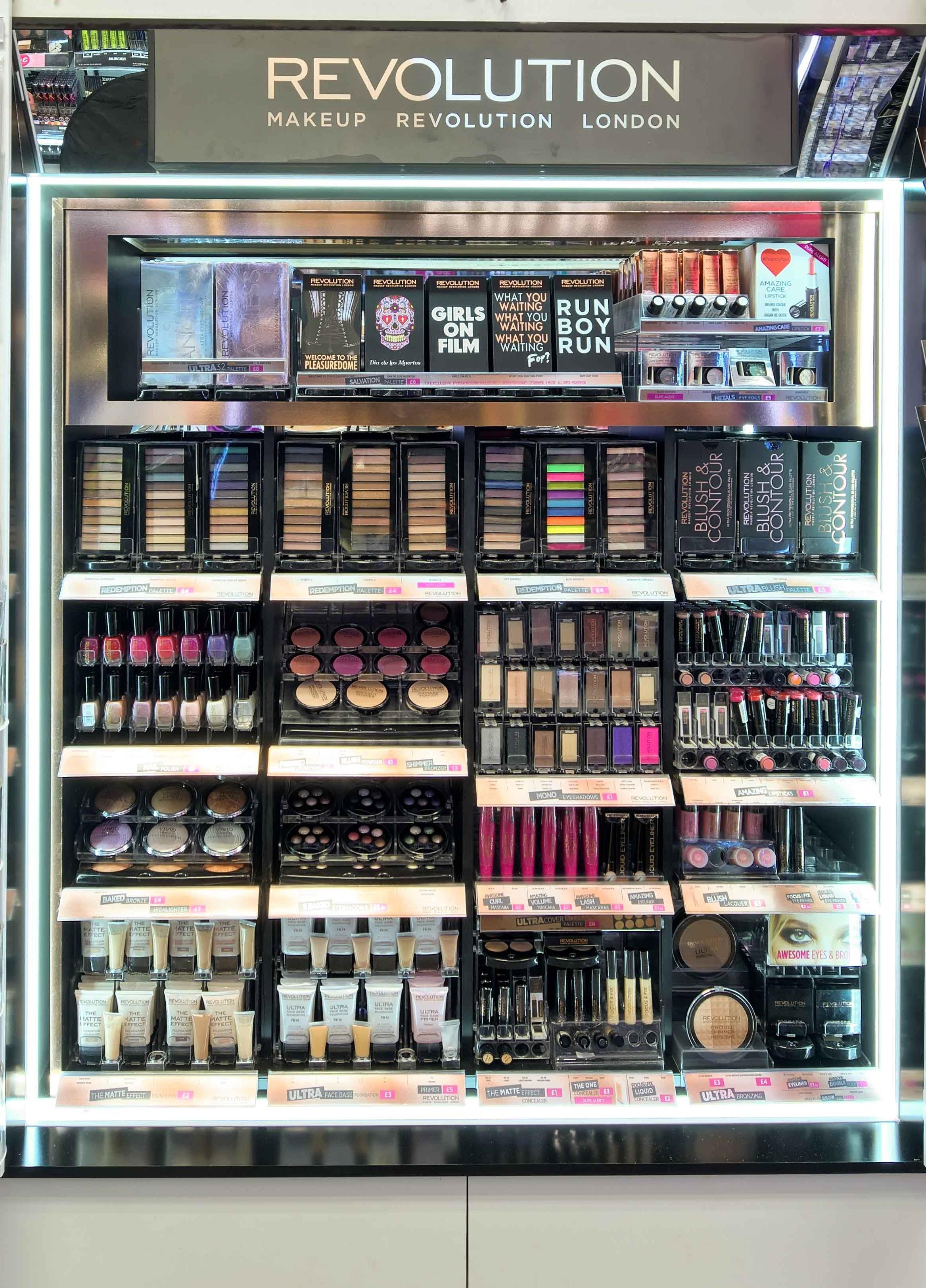 MakeUp Revolution now in Superdrug - list of stores - Money saving blog -  Mrs Bargain Hunter 92485c2b71b