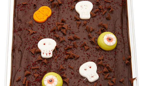 Ghoulishly Gooey Tray Bake, £5.00