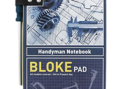 The Works Bloke Pad Notebook Pad, £4.99 www.theworks.co.uk