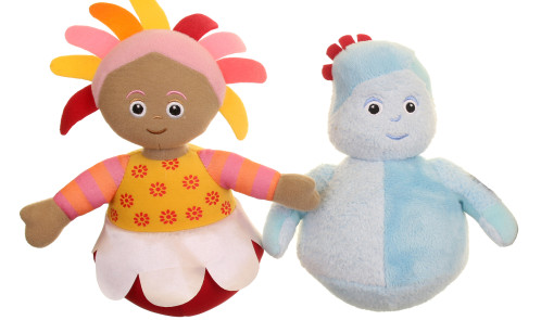 IGGLEPIGGLE AND UPSY DAISY WOBBLE TOYS