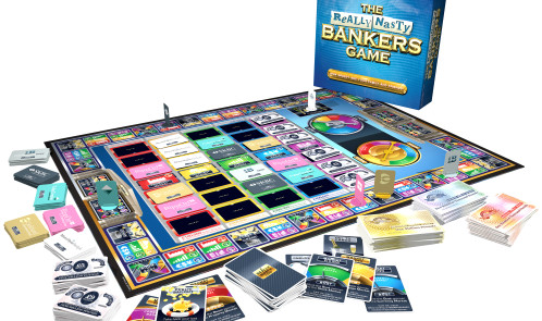 The Really Nasty Bankers Game (In Play) RRP 19 99