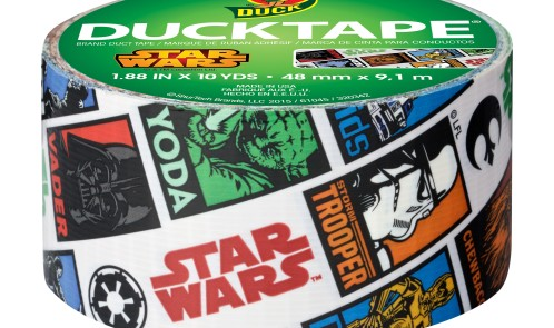 "DUCK STAR WARS 1.88""X10YD DUCT TAPE 6/CA"